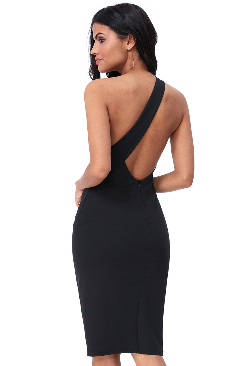 Stella Design One Shoulder Dress - Gissings Boutique