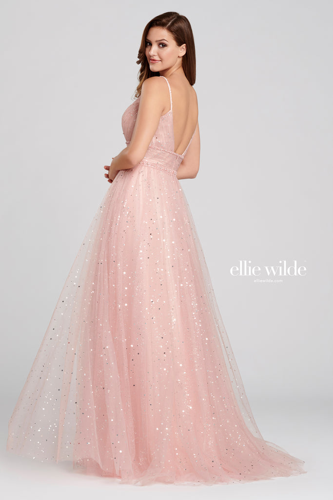 Ellie Wilde English Rose Star Ballgown - Gissings Boutique