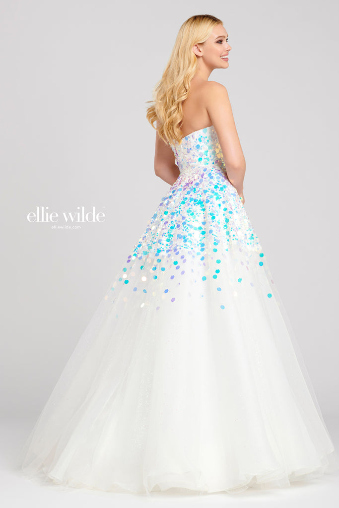 Ellie Wilde Ivory Ballgown - Gissings Boutique