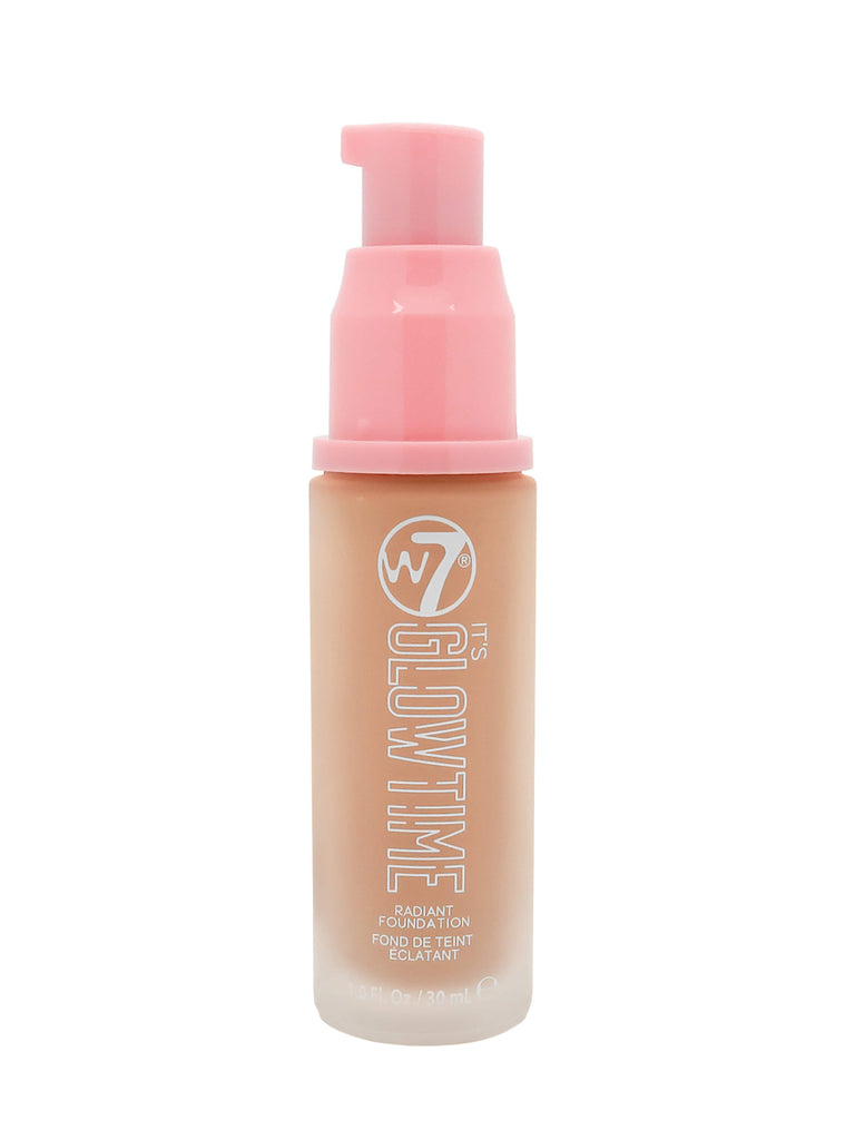 W7 It's Glow Time Radiant Foundation - Honey Glow - Gissings Boutique