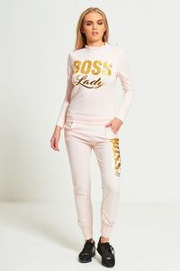 Pink Boss Lady Loungewear Set - Gissings Boutique
