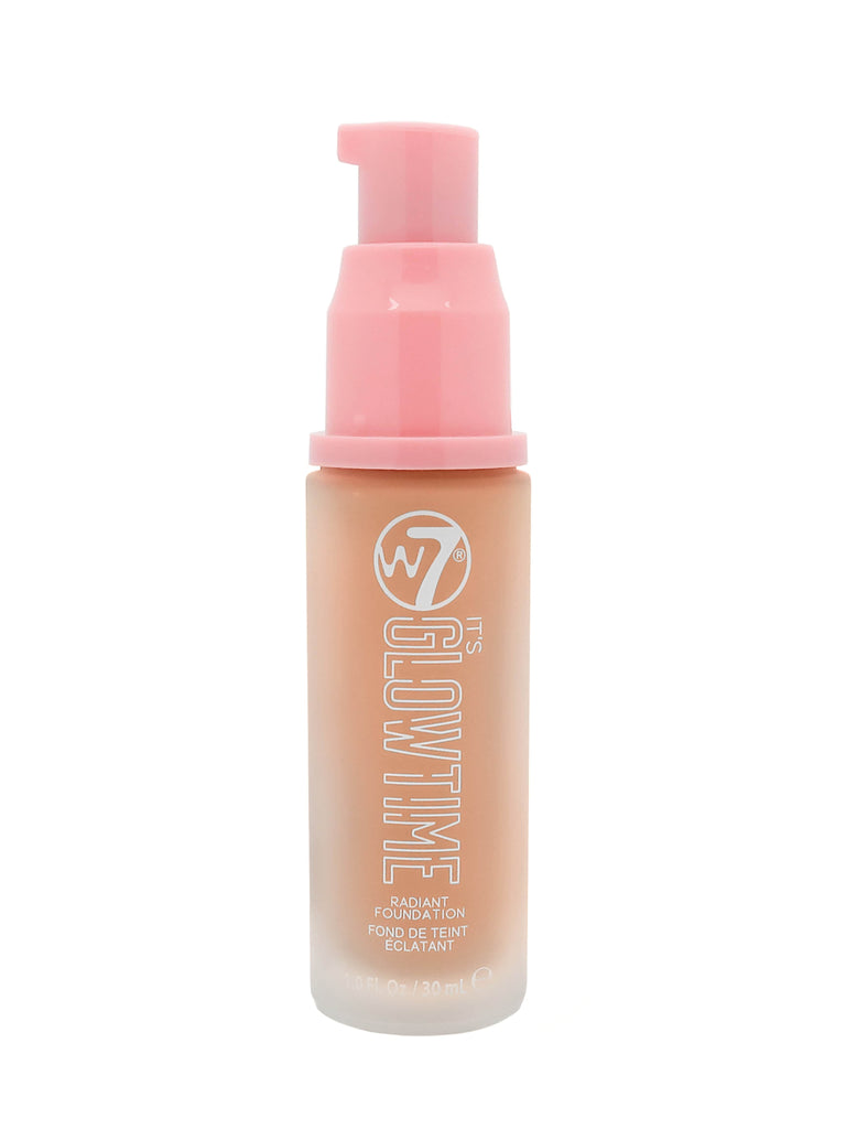 W7 It's Glow Time Radiant Foundation - Sand Glow - Gissings Boutique