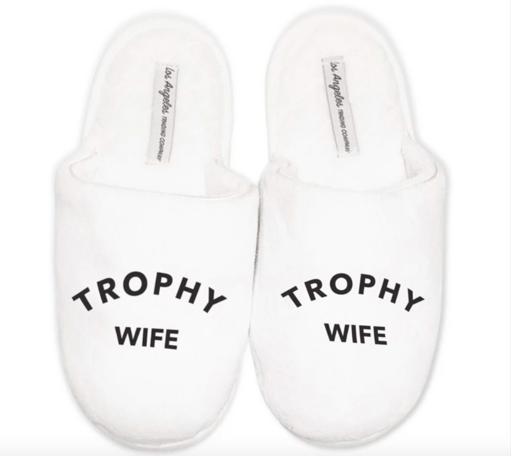 White Slippers - Trophy Wife - Gissings Boutique
