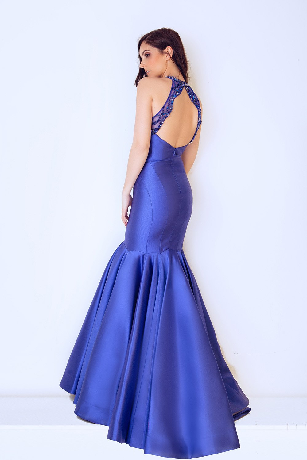 Tomis Royal Blue Ball Gown