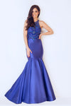 Tomis Royal Blue Ball Gown - Gissings Boutique