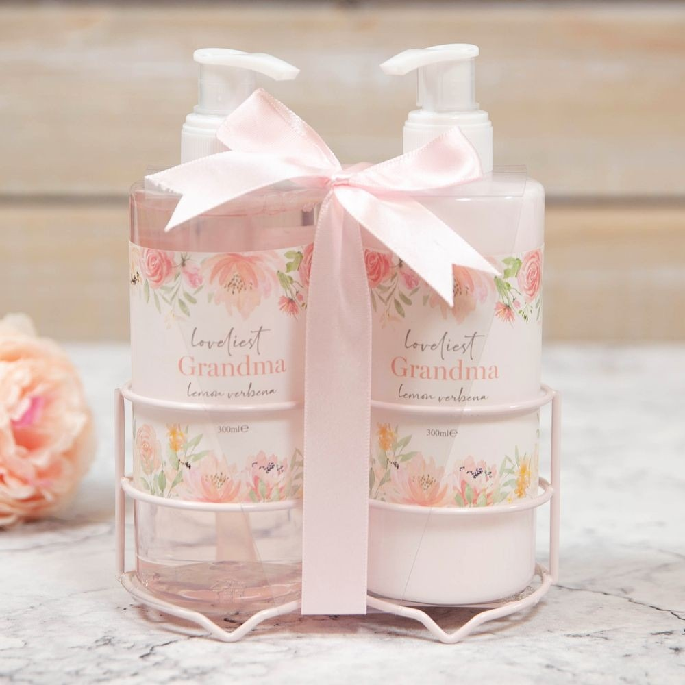 Loveliest Grandma Hand Soap Gift Set - Gissings Boutique