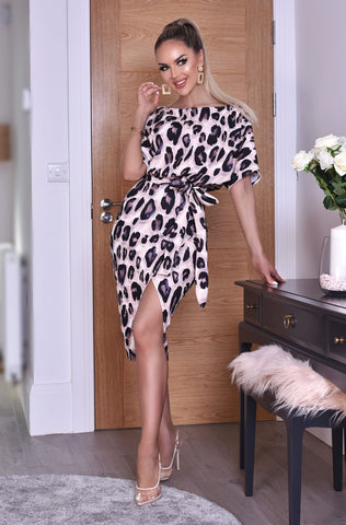 Portia Leopard Print Dress - Gissings Boutique