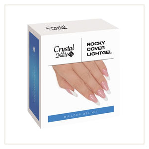 ROCKY COVER LIGHT GEL KIT - Crystal Nails Sweden
