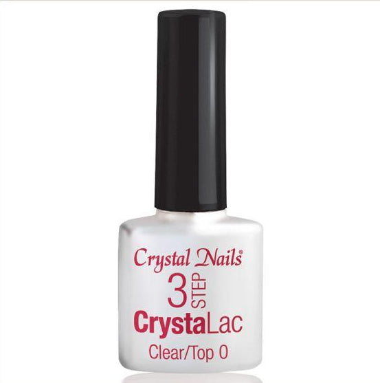 3 STEP CRYSTALAC CLEAR/TOP 8ml - Crystal Nails Sweden