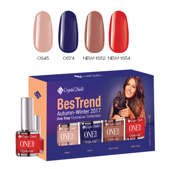 BESTREND 2017 AUTUMN-WINTER ONE STEP CRYSTALAC KIT - Crystal Nails Sweden