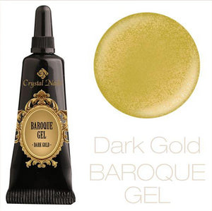 BAROQUE GEL - DARK GOLD - Crystal Nails Sweden
