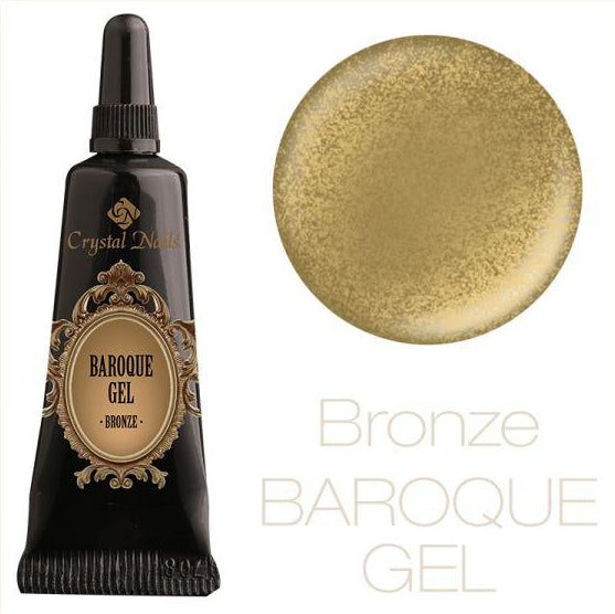 BAROQUE GEL - BRONZE - Crystal Nails Sweden