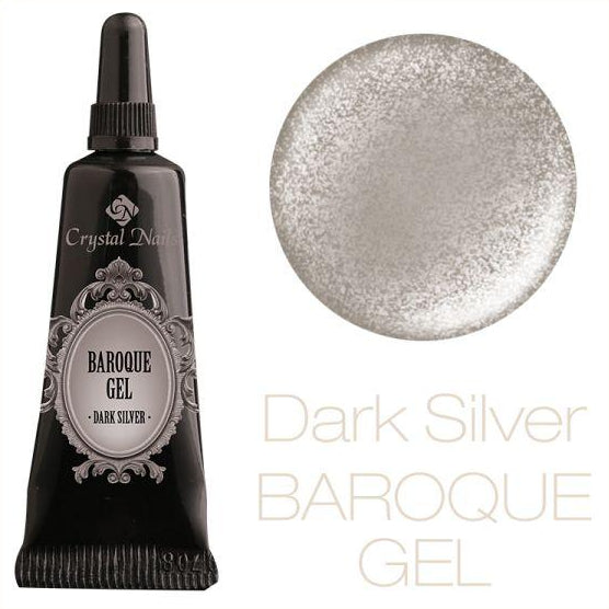 BAROQUE GEL - DARK SILVER - Crystal Nails Sweden
