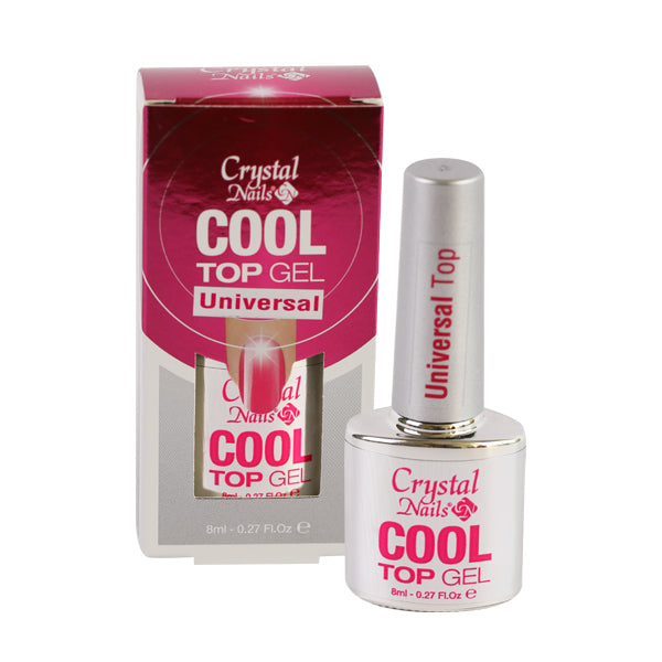 COOL TOP GEL UNIVERSAL 8ml - Crystal Nails Sweden