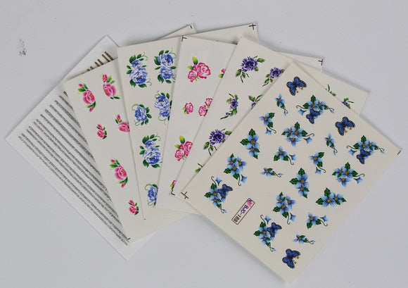 FLOWER WATER STICKER PACK
