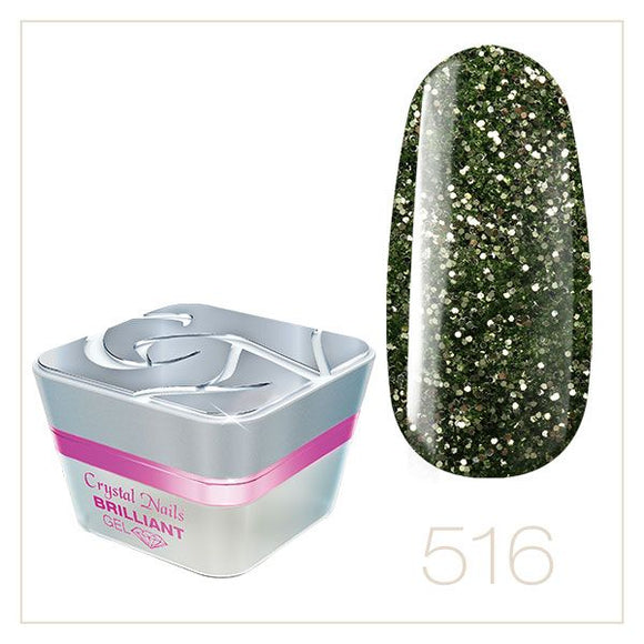 BRILLIANT GEL 516 5ml - Crystal Nails Sweden