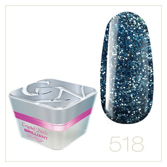 BRILLIANT GEL 518 5ml - Crystal Nails Sweden