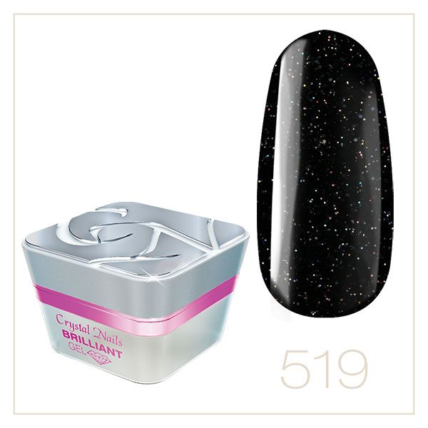 BRILLIANT GEL 519 5ml - Crystal Nails Sweden