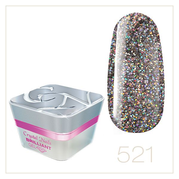 BRILLIANT GEL 521 5ml - Crystal Nails Sweden