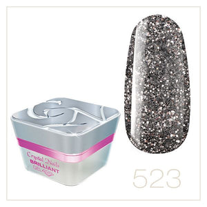 BRILLIANT GEL 523 5ml - Crystal Nails Sweden