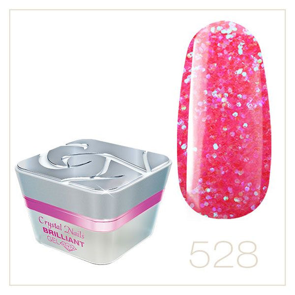 BRILLIANT GEL 528 5ml - Crystal Nails Sweden