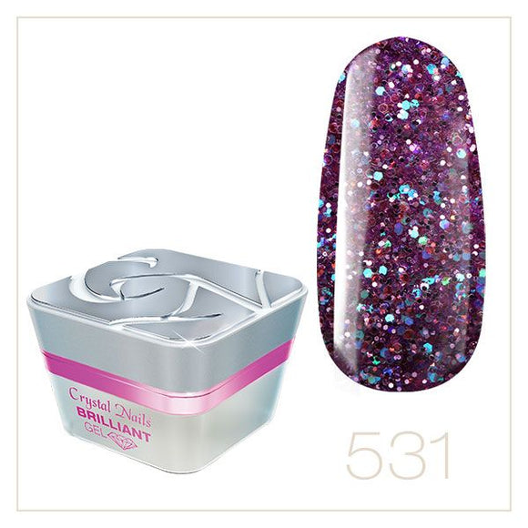 BRILLIANT GEL 531 5ml - Crystal Nails Sweden