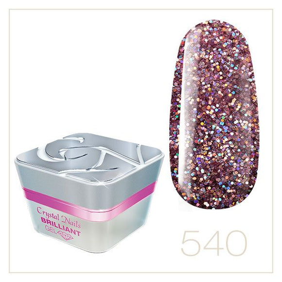 BRILLIANT GEL 540 5ml - Crystal Nails Sweden