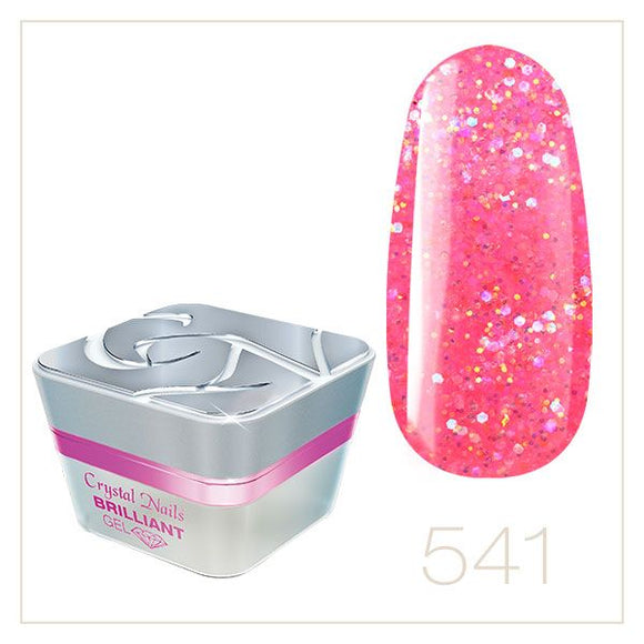 BRILLIANT GEL 541 5ml - Crystal Nails Sweden