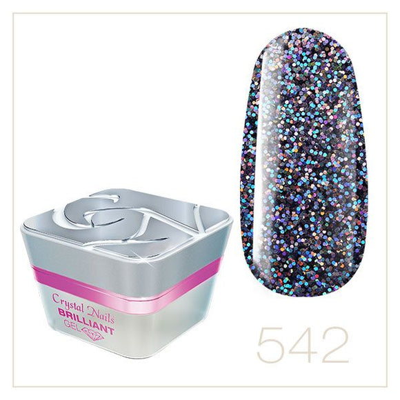 BRILLIANT GEL 542 5ml - Crystal Nails Sweden