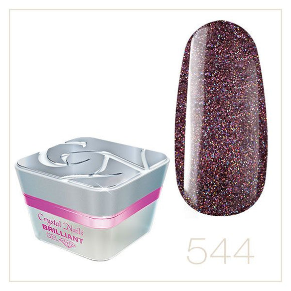BRILLIANT GEL 544 5ml - Crystal Nails Sweden