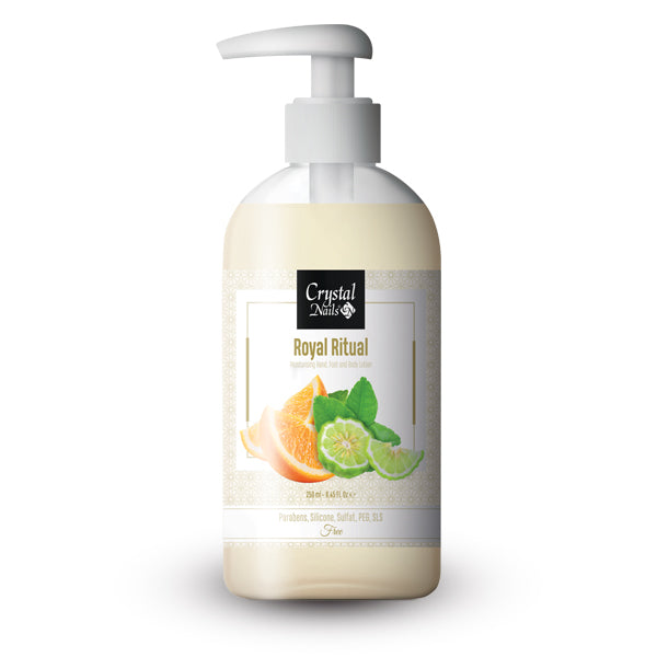 MOISTURIZING HAND, FOOT AND BODY LOTION - ROYAL RITUAL 250ML