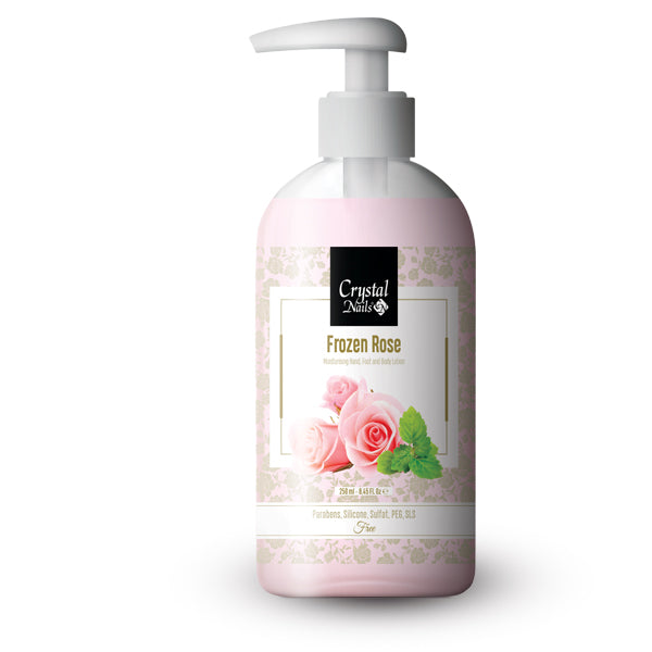 MOISTURIZING HAND, FOOT AND BODY LOTION - FROZEN ROSE 250ML