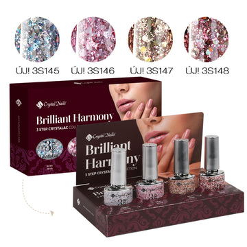 BRILLIANT HARMONY 3 STEP CRYSTALAC KIT (4X4ML)