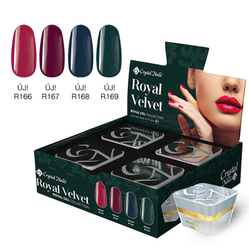 ROYAL VELVET ROYAL GEL SET (4X4,5ML)