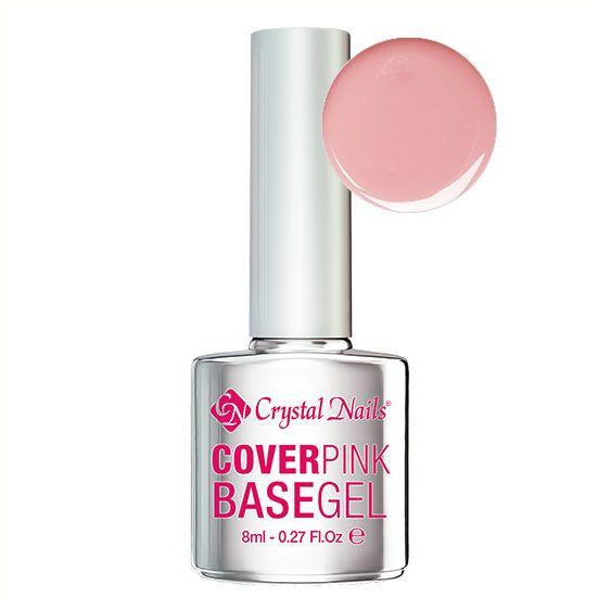 CN COVER PINK BASE GEL 8ml - Crystal Nails Sweden