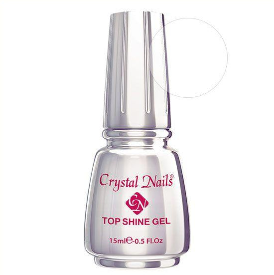 CN TOP SHINE GEL - CLEAR/TOP 15ml - Crystal Nails Sweden