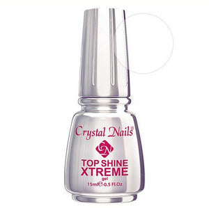XTREME TOP SHINE (CLEAR) 15ml - Crystal Nails Sweden