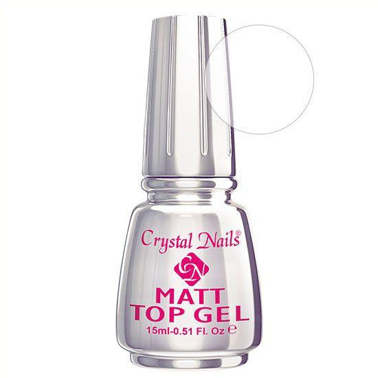 CN MATT TOP GEL - Crystal Nails Sweden
