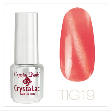 Tiger Eye - CrystaLac #19 (4ml)
