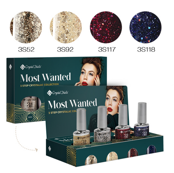 NOW WANTED! 3 STEP CRYSTALAC KIT 2019 WINTER (4X4ML)