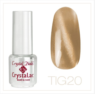 Tiger Eye - CrystaLac #20 (4ml)