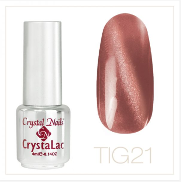 TIGER EYE - CRYSTALAC #21 (4ml)
