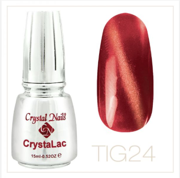 TIGER EYE - CRYSTALAC #24 (15ml)
