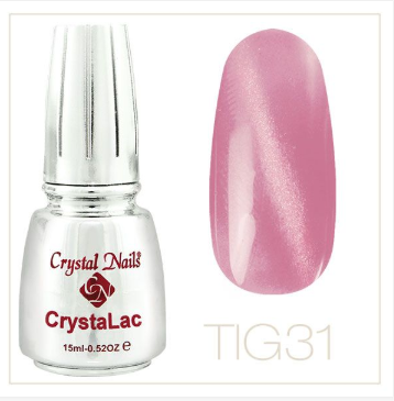 Tiger Eye - CrystaLac #31 (15ml)