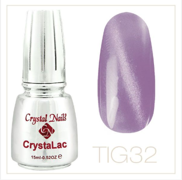 Tiger Eye - CrystaLac #32 (15ml)