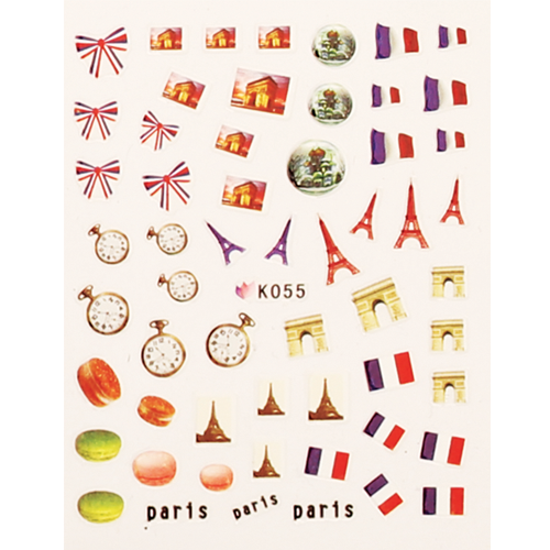 CN NAIL STICKER PARIS