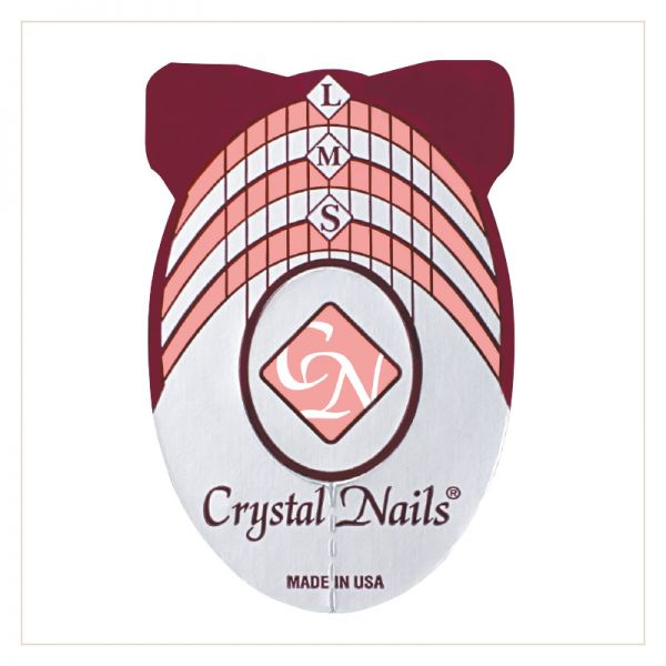 CRYSTAL NAILS NAIL FORM 500PCS - Crystal Nails Sweden