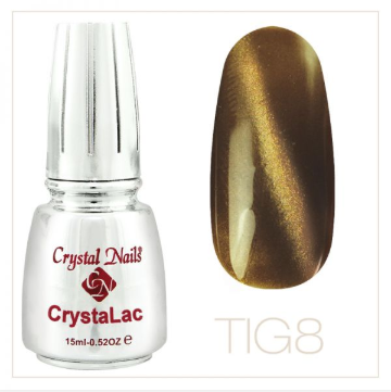 TIGER EYE - CRYSTALAC #8 (15ml)