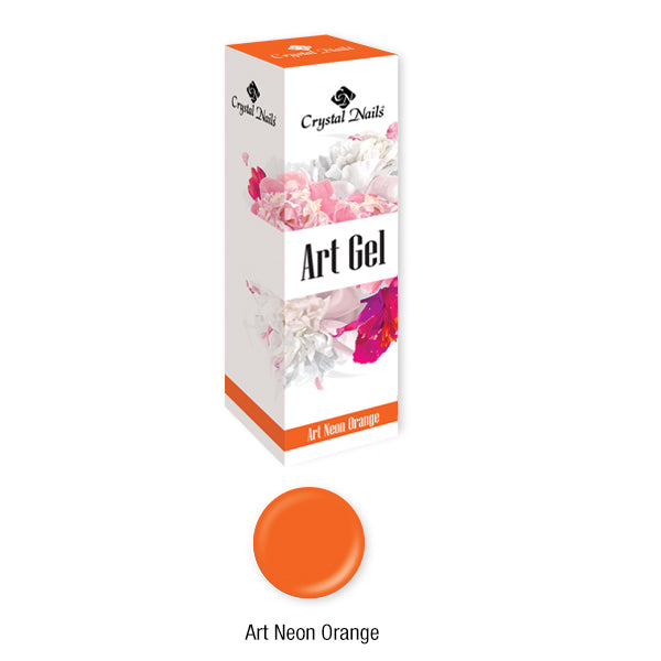ART GEL THICK PAINT GEL - ART NEON ORANGE (5ML)