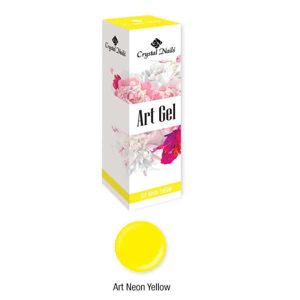 ART GEL THICK PAINT GEL - ART NEON YELLOW (5ML)